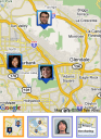 Google Latitude - Your friends on a map